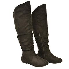 Twisted Faux Suede Wide Width Slouchy Casual Trendy Round Toe Mid Calf Slouch Thigh High Boots Fashion Stylish Sexy Shoes,10 C/D US,Black Twisted http://www.amazon.com/dp/B00G5PC1N8/ref=cm_sw_r_pi_dp_MIyvub08FWK2Q