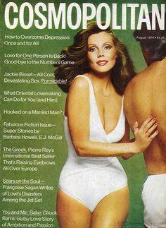 AUGUST 1974, COSMOPOLITAN COVER