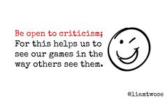 Opening up to criticism helps us see our games through the eyes of others #gamedev #indiedev #30daydev