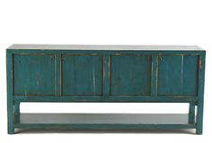 Amazing sideboard. Love the color.