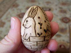 Wooden Easter eggs!