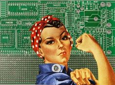 Today's working woman - using technology to further our careers!