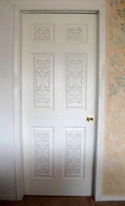 plaster-stenciled-door