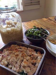 Kaiku Lifestyle: Super easy creamy chicken in the oven (AIP, paleo, dairy free, grainfree, gluten free)
