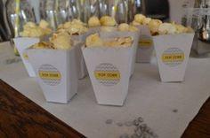 Pop corn et buffet personnalisé pour l'annversaire de Leni
