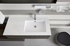 Bagno Joy con finitura rovere cenere e bianco opaco http://www.cerasa.it/it_IT/bagni/moderno/joy/Cerasa_bagno_Joy_62_63