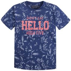 T-shirt print s/s Blues - Mayoral