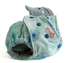 Dream One-Size Fitted Diaper with Cotton Velour by thegoodmama.com, via Flickr