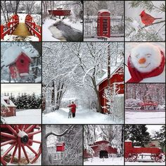 .Moodboard Winter in red