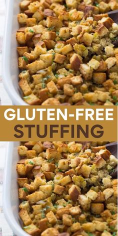 Dairy Free Thanksgiving Recipes, Gluten Free Recipes For Dinner, Foods With Gluten, Dairy Free Recipes, Recipe For Gluten Free Stuffing, Thanksgiving Table, Lactose Free Meals, Eating Gluten Free, Gluten Free Dinners Easy