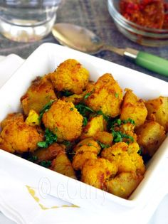 Aloo Gobi - can't wait to add this to my repertoire when I cook Indian!