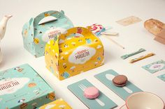 Michelle's Backery by Anya Aleksandrova, via Behance