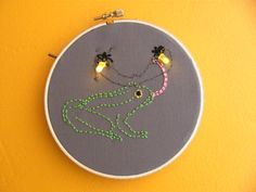 Tutorial: electronicembroidery pattern #free #embroidery #diy #crafts
