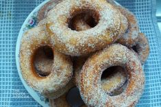 Doughnuts Oil For Deep Frying, Cake Flour, Cupcake Cakes, Cupcakes, Dry Yeast, Melted Butter, Doughnuts, Cooking Time, Cake Recipes