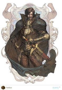 King Kashue from Record of Lodoss War. Art by Dong-hyuk Kim.