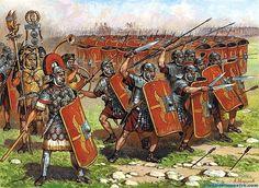 Ejército romano-La tortuga                                                                                                                                                                                 Más