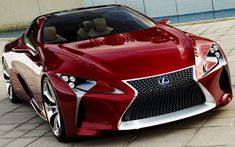 The Lexus LF-LC concept has the potential to become the next big thing for the Japanese brand and a major magnet for prestige car buyers. Lexus Gs300, Lexus Lfa, Lexus Sports Car, Fast Sports Cars, Lexus Cars, Sport Cars, Lexus Auto, Most Expensive Sports Car, Car Facts