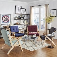 emilia midcentury danish modern arm chair inspire q modern by inspire q furniture
