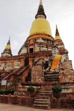 Wat Yai Chai Mongkhon temple in Ayutthaya, Thailand - World Adventurers [23 photos]