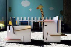 Essenza Kids, la silla-pupitre de diseño para niños