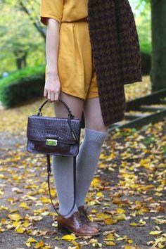 Slanelle Style - Blog mode, voyage, musique, beauté - Paris  Les feuilles  mortes se ramassent à la pelle b098eeb74f4