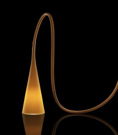 #Uto is a thermoplastic elastomer and polycarbonate flexible #Lamp, design by #Lagranja for @foscarinilamps.