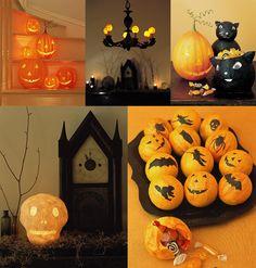 Halloween papier mache via MARTHA MOMENTS