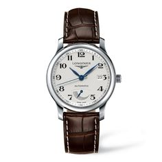 Master Collection automatique réserve de marche cadran blanc clou de Paris - Longines