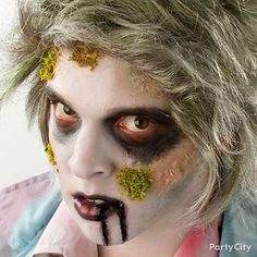 Whoa, you look like the walking dead, man! Get gruesome with the easy tips in our zombie makeup tutorial - photos, how-to tips & video. #BeACharacter
