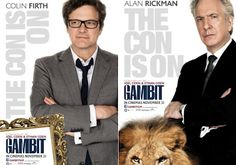 Colin Firth, Alan Rickman: Footage from GAMBIT  http://britsunited.blogspot.com/2012/09/watch-wacky-first-footage-from-gambit.html