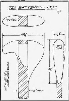 Paddle Making (and other canoe stuff): Jonas' Experimental Grip Design - Daniel Messer Wood Canoe, Wooden Kayak, Wooden Paddle, Canoe Boat, Canoe And Kayak, Canoe Paddles, Greenland Paddle, Canoe Accessories, Wooden Boat Building