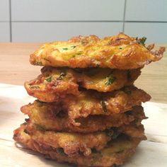 Peruna-Halloumi frittersit - Carita K