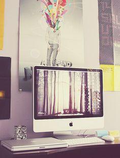 Modern Workspace  :: iMac