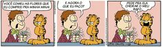 Tirinhas do Garfield