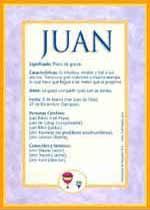 Nombre Juan