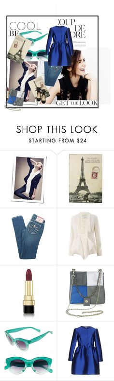 """Coup de Foudre"" by agathap ❤ liked on Polyvore featuring Plein Sud, WALL, True Religion, 3.1 Phillip Lim, Dolce&Gabbana, Matieres a Reflexion, A.J. Morgan, P.A.R.O.S.H. and Steve Madden"