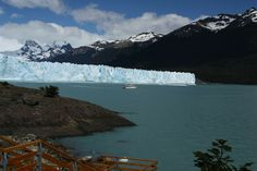 Perito Moreno Glacier - glacier in the National Park Los Glaciares National Park #Argentina. Glacier plateau of Patagonia is the 3rd largest reserve of fresh water on Earth. The width of the glacier is 5 km, height 60 m, depth up to 700 m and a speed of 2 m per day.