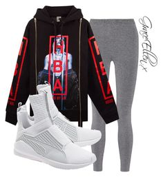 Untitled #87 by miss-grace-ellen on Polyvore featuring polyvore fashion style T By Alexander Wang Puma Hood by Air clothing