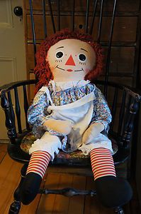 I had a super XL Raggedy Ann doll that I got for Christmas one year. She was a special friend. :-)