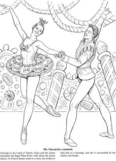 Favorite Ballets Coloring Book Dover Publications