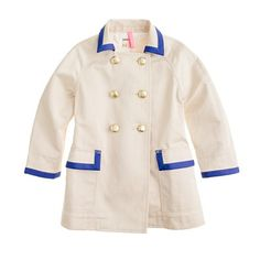 on sale $118 crew cuts trench coat