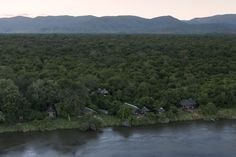 Royal Zambezi Lodge from the air. we really are isolated and very private. River, Outdoor, Outdoors, Outdoor Games, Outdoor Living, Rivers