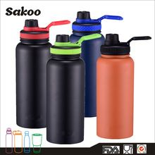[Outdoor Sports] SAKOO 950ml popular new item muti-lids double wall insualted vacuum stainless steel hydro flask
