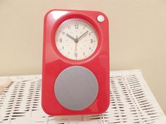 New! levenger battery #alarm clock / fm #digital #display radio red,  View more on the LINK: http://www.zeppy.io/product/gb/2/322351588222/