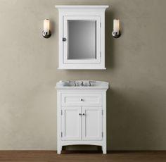 small bathroom corner vanity ideas