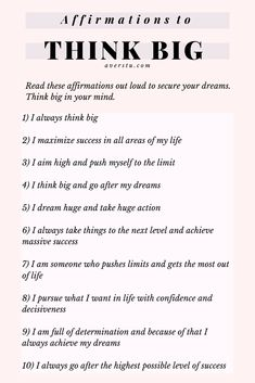 30 Bright Affirmations and Helpful Reminders For Positive Living Positive Affirmations Quotes, Self Love Affirmations, Morning Affirmations, Law Of Attraction Affirmations, Affirmation Quotes, Positive Quotes, Self Love Quotes, Words Quotes, Life Quotes