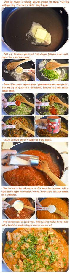 Chicken Tikka Masala .. I love recipes with photos :D