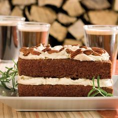 Gingerbread Cake With Stout Buttercream   MyRecipes.com