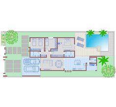 Arquiteto Natan Fontes: casa térreo - BRENA