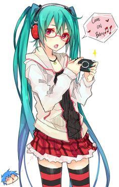 Vocaloid - Hatsune Miku art by Curryuku (Zerochan) Manga Anime, Manga Art, Anime Art, Hatsune Miku, Gakupo Kamui, Mikuo, Aoki Lapis, Kagamine Rin And Len, Miku Chan